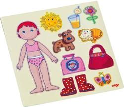 HABA Magneetspel Aankleedpop Lilli