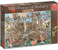 Jumbo  Pcs of History The Pirates - 1000 stukjes