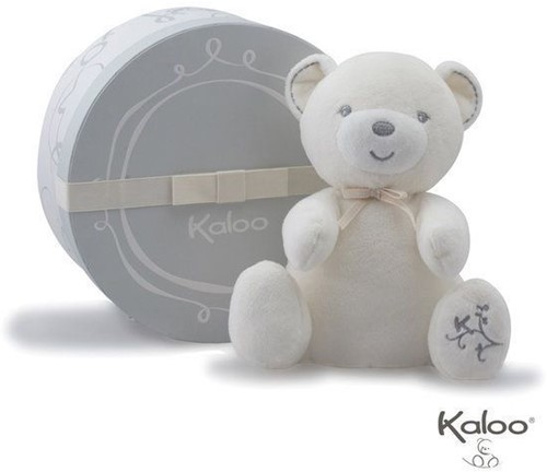 Planet Happy  Kaloo pluche knuffel Perle Baby knuffelbeer creme