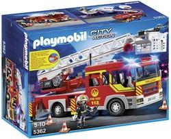 Playmobil  City Action Brandweer ladderwagen met licht en sirene 5362