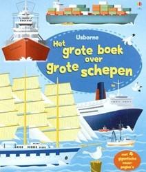 Usborne  doeboek Het grote boek over grote schepen
