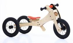 Trybike houten loopfiets 4-in-1 Oranje