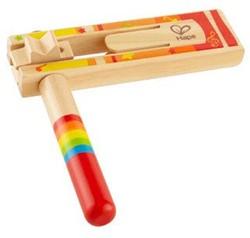 Hape houten muziekinstrument Ratel