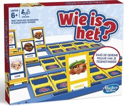 Hasbro  actiespel Wie is het?