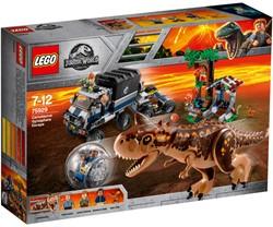 LEGO Jurassic Gyrobolontsnapping van Carnotaurus 75929