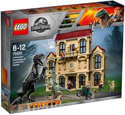 LEGO Jurassic Indoraptorchaos bij Lockwood Estate 75930