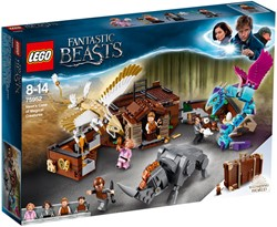 LEGO Harry Potter Newt's koffer met magische wezens 75952