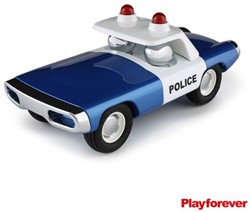 Playforever  speelvoertuig Maverick Heat Blue Police