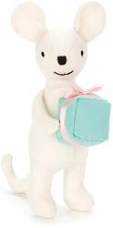 Jellycat knuffel Mini Boodschapper Muis -16cm