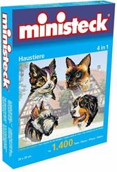 Ministeck Huisdieren 4-in-1 - 1400 stukjes