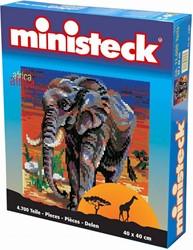 Ministeck Olifant in Afrika - 4700 stukjes