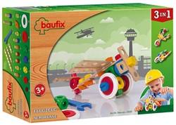 Baufix  houten constructie speelgoed Vliegtuig 10200