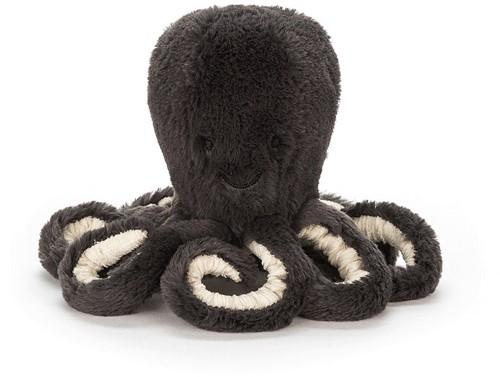 Jellycat knuffel Inky Octopus Baby 14cm