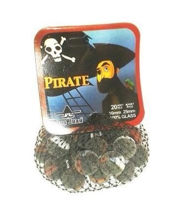 Don Juan  buitenspeelgoed Pirate knikkers 16 mm