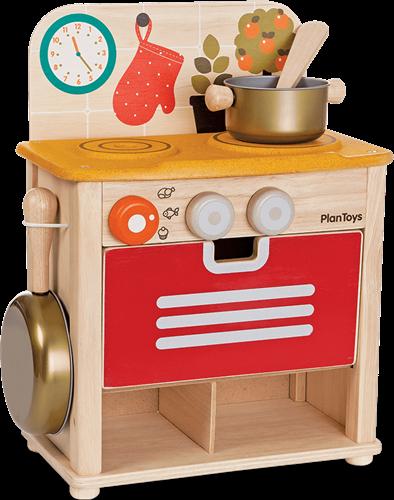Plan Toys houten keukentje.