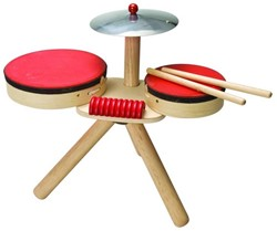 Plan Toys  houten muziekinstrument 6410 Drumstel