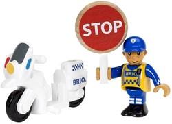 BRIO trein Politie motoragent 33861