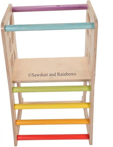 Sawdust and Rainbows Rainbow StandUp
