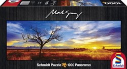 Schmidt  legpuzzel Desert opak at sunset - 1000 stukjes