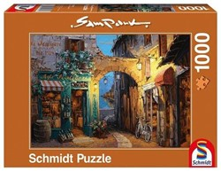 Schmidt  legpuzzel Alley at Lake Como, - 1000 stukjes