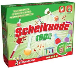 Science4you  wetenschapsdoos Scheikunde 1000