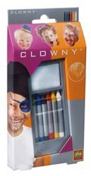 Ses Clowny verkleedkleren Schminkstiften 6 kleuren