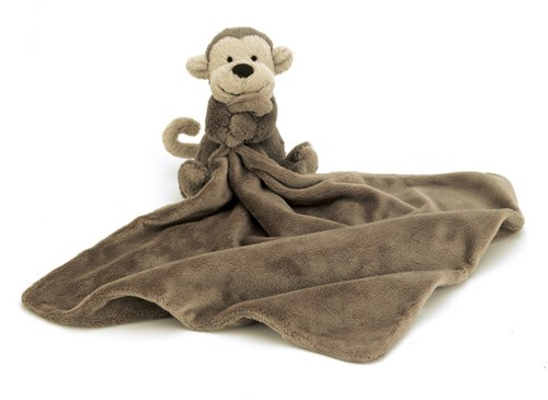 Jellycat Bashful Aap Soother