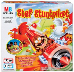 Hasbro  actiespel Stef stuntpiloot