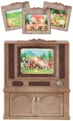 Sylvanian Families  accessoires Luxury Color tv 2924