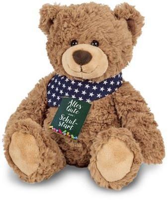 Hermann Teddy Teddy Rufus 30 cm mit Sonderetikett Schulanfang