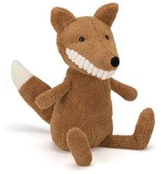 Jellycat  pluche knuffel Toothy Fox - 36 cm
