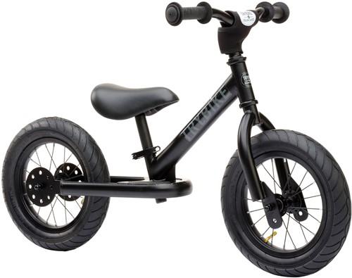 Trybike loopfiets staal Zwart - tweewieler Trybike steel bike, all black edition