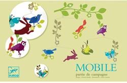 Djeco Mobiles polypro Partie de campagne