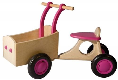 Van Dijk Toys Bakfiets, roze