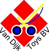 Van Dijk Toys  poppen accessoires Dekentje Rood met witte stippen